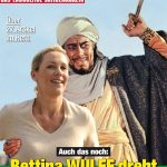Titanic / Cover Mohammed-Film / Bettina Wulff