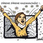 """© Ismail Dogan - """"Resistiamo, resistiamo, vinceremo"""" / """"Resist, Resist we shal win"""" / """"Résistons, Résistons, nous vaincrons"""""""