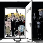 © Schranz – Investiture de Trump