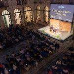 Conferenza LectorinFabula nel grande chiostro