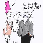 """© Patrick Pinter - One year anniversary of president Macron: """"he does not look his age"""" - Anniversario di un anno di presidenza di macron: """"non sembra cosi giovane!"""""""