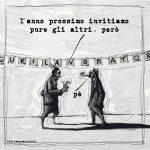 """© Fabio Magnasciutti -""""Next year I shall invite everybody"""" - """"L'année prochaine j'inviterai tout le monde"""""""